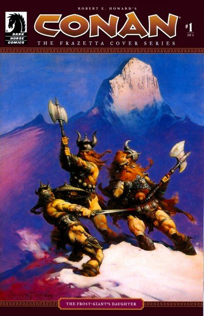 Conan – The Frazetta Cover Series #1 – 8 (2008-2011)