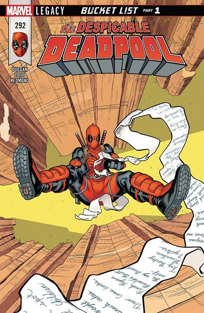 Despicable Deadpool #292 (2018)