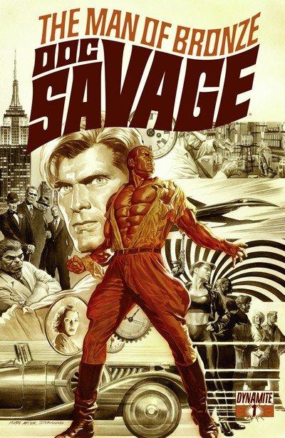 Doc Savage #1 – 8 (2013-2014)