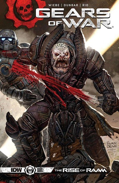 Gears Of War – The Rise Of RAAM #1 (2018)