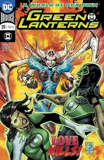 Green Lanterns #39 (2018)