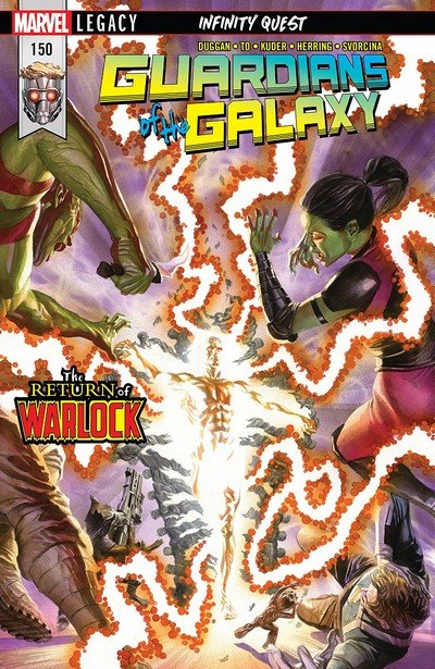 Guardians Of The Galaxy #150 (2018)