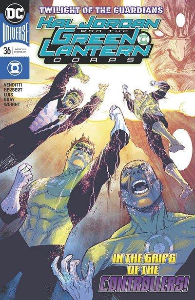 Hal Jordan And The Green Lantern Corps #36 (2018)