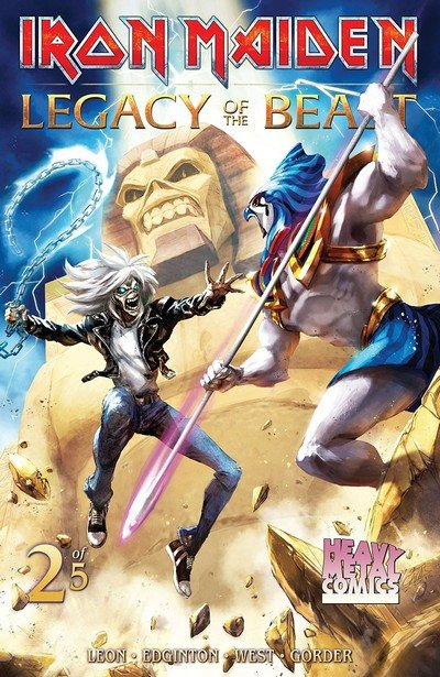 Iron Maiden Legacy of the Beast #2 (2018)