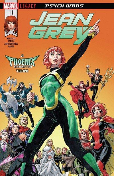Jean Grey #11 (2018)