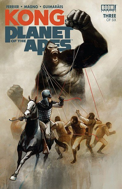 Kong On The Planet Of The Apes #3 (2018)