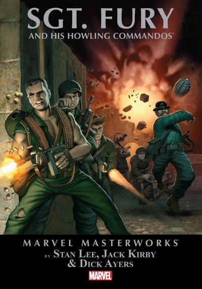 Marvel Masterworks – Sgt. Fury Vol. 1 – 4 (TPB) (2006-2012)