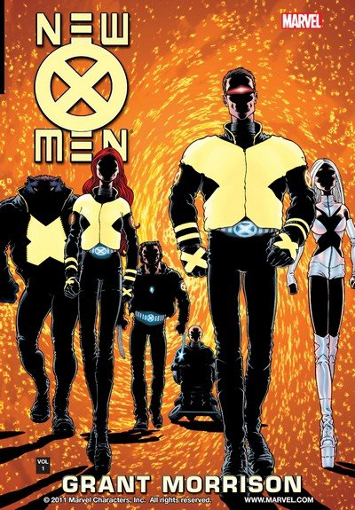 New X-Men by Grant Morrison Vol. 1 – 8 (TPB) (2002-2014)