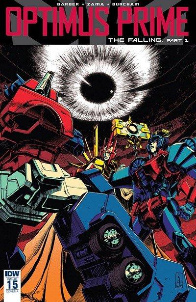 Optimus Prime #15 (2018)