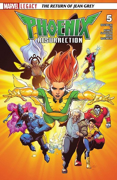 Phoenix Resurrection – The Return Of Jean Grey #5 (2018)