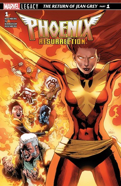 Phoenix Resurrection – The Return of Jean Grey #1 – 5 (2018)