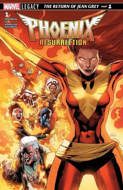 Phoenix Resurrection – The Return of Jean Grey #1 – 5 (2018)