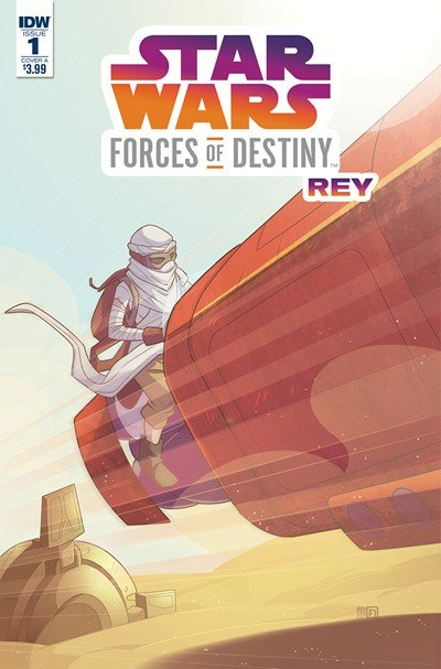 Star Wars Adventures – Forces Of Destiny-Rey #1 (2018)