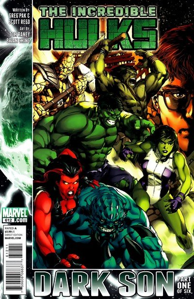 The Incredible Hulks #612 – 635 (2010-2011)