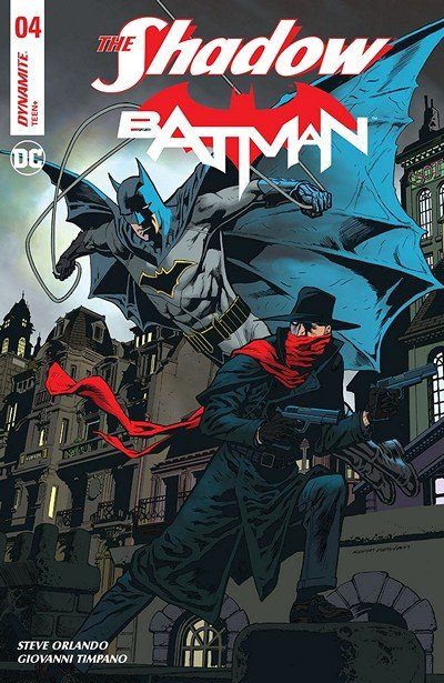 The Shadow – Batman #4 (2018)