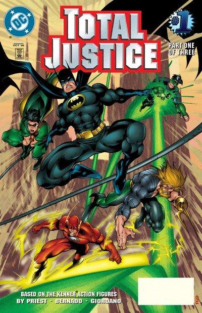 Total Justice #1 – 3 (1996)
