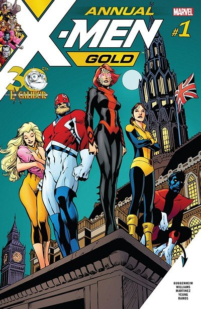 X-Men Gold Annual #1 (2018)