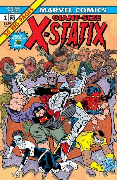 X-Statix #1 – 26 + TPB Vol. 1 – 5 (2002-2006)