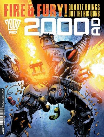 2000AD #2067 (2018)