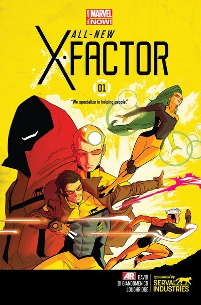 All-New X-Factor #1 – 20 (2014-2015)