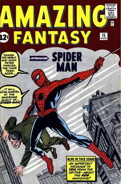 Amazing Fantasy Vol. 1 #15 (1962)