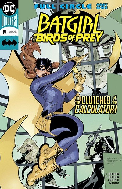 Batgirl And The Birds Of Prey #19 (2018)