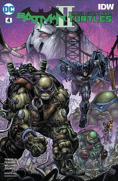Batman – Teenage Mutant Ninja Turtles II #4 (2018)