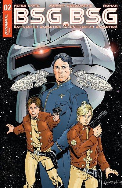 Battlestar Galactica Vs. Battlestar Galactica #2 (2018)