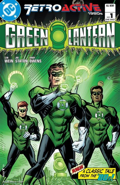 DC Retroactive – Green Lantern – The 80s (2011)