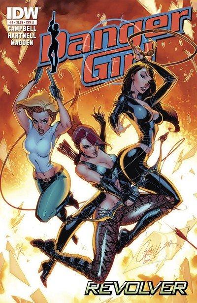 Danger Girl – Revolver #1 – 4 (2012)