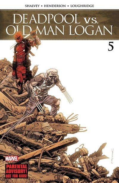 Deadpool vs. Old Man Logan #5 (2018)