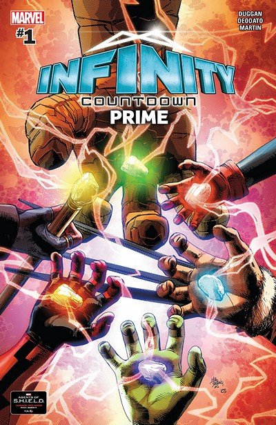 Infinity Countdown Prime #1 (2018)