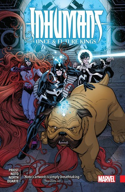 Inhumans – Once And Future Kings (TPB) (2018)