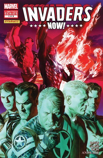 Invaders Now! #1 – 5 (2010-2011)