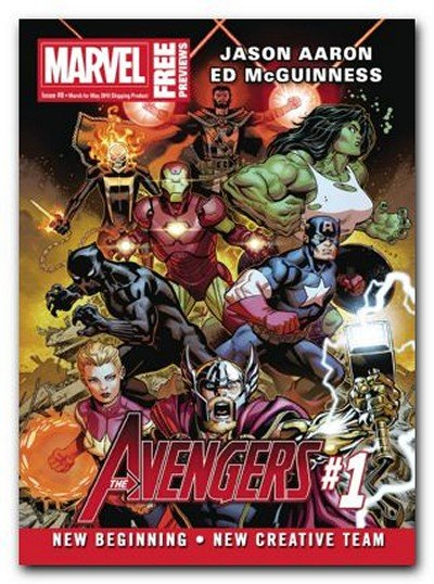 Marvel Previews #8 (March 2018 for May 2018)