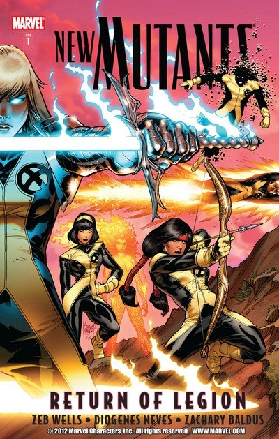 New Mutants Vol. 3 TPB – Vol. 1 – 7 (2010-2013)