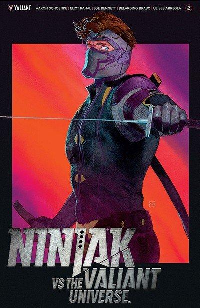 Ninjak vs. The Valiant Universe #2 (2018)