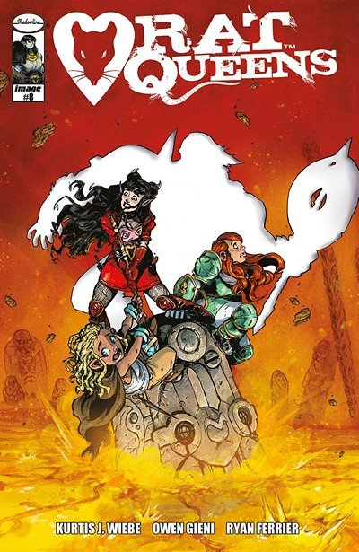 Rat Queens Vol. 2 #8 (2018)