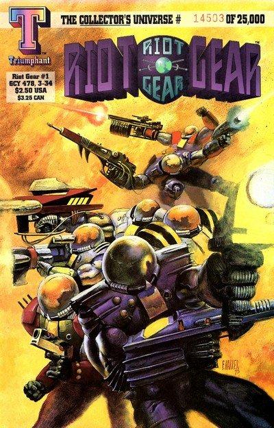 Riot Gear #1 – 8 (1993-1994)