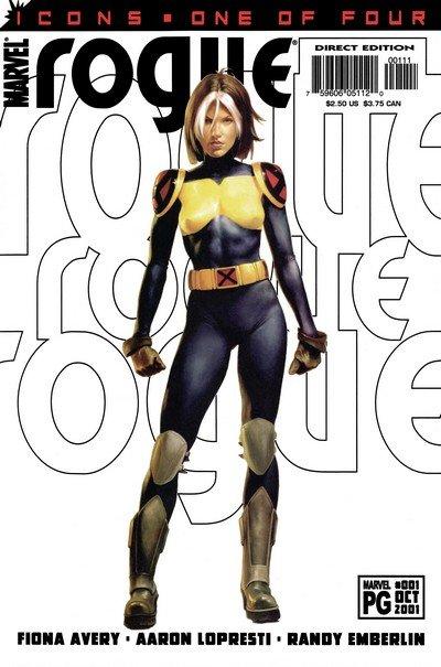 Rogue Vol. 2 #1 – 4 (2001)