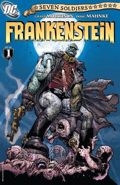 Seven Soldiers – Frankenstein #1 – 4 (2006)