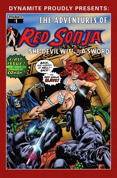 The Adventures of Red Sonja #1 – 22 + TPB Vol. 1 – 3 (2006-2015)