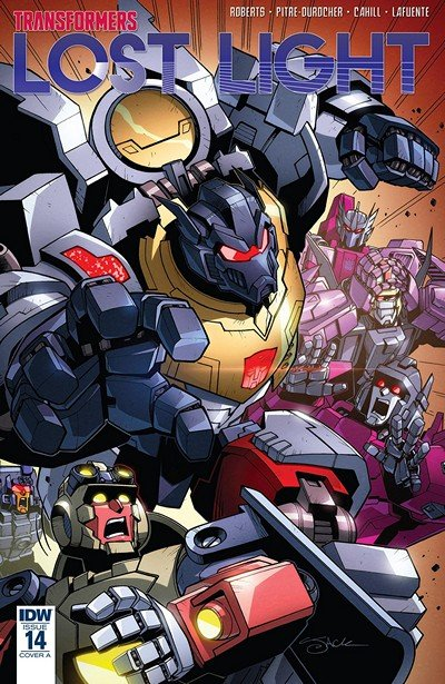 Transformers – Lost Light #14 (2018)