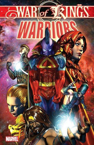 War of Kings – Warriors (TPB) (2010)