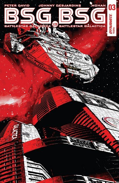 Battlestar Galactica Vs. Battlestar Galactica #3 (2018)