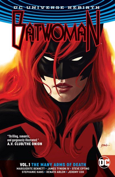 Batwoman Vol. 1 – The Many Arms of Death (TPB) (2017)