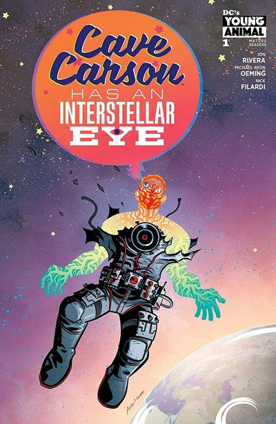 Cave Carson Has An Interstellar Eye #1 (2018)
