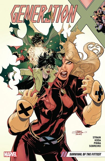 Generation X Vol. 2 – Survival of the Fittest (TPB) (2018)