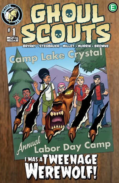 Ghoul Scouts – I Was A Tweenage Werewolf #1 (2018)
