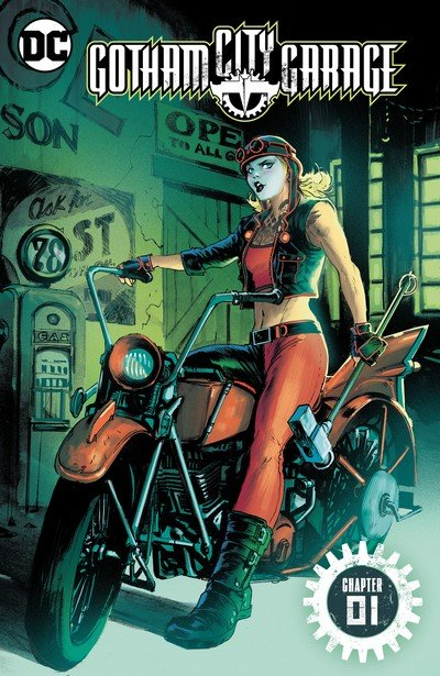 Gotham City Garage #1 – 24 (2017-2018)